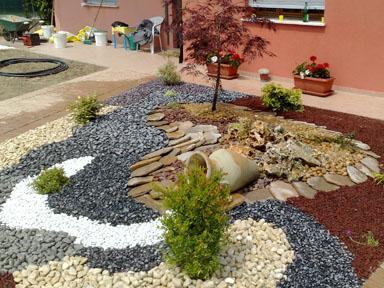 Ciottoli giardini di primavera da costruire a cuneo for Ciottoli per giardino on line